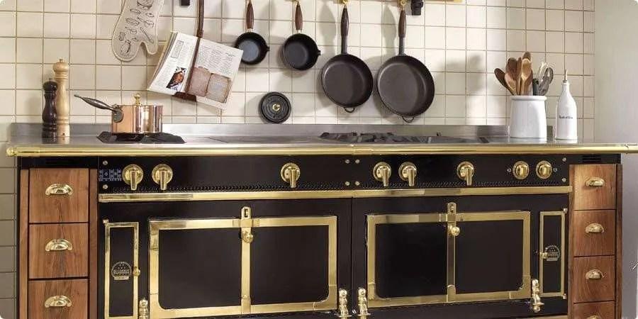 Industrial Kitchen by La Cornue