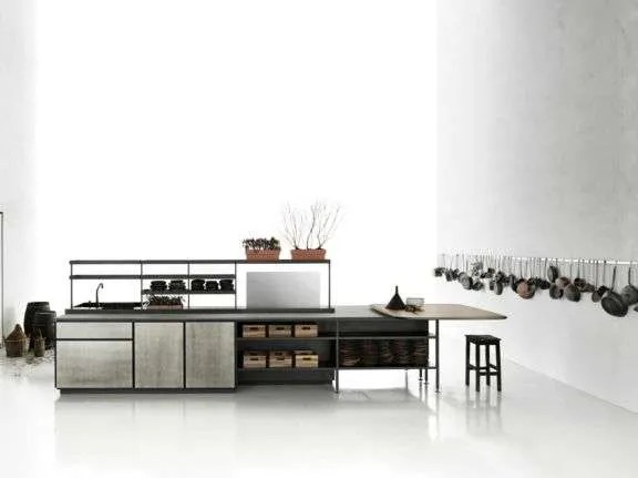Boffi and Salinasthe first Kitchen signed by Patricia