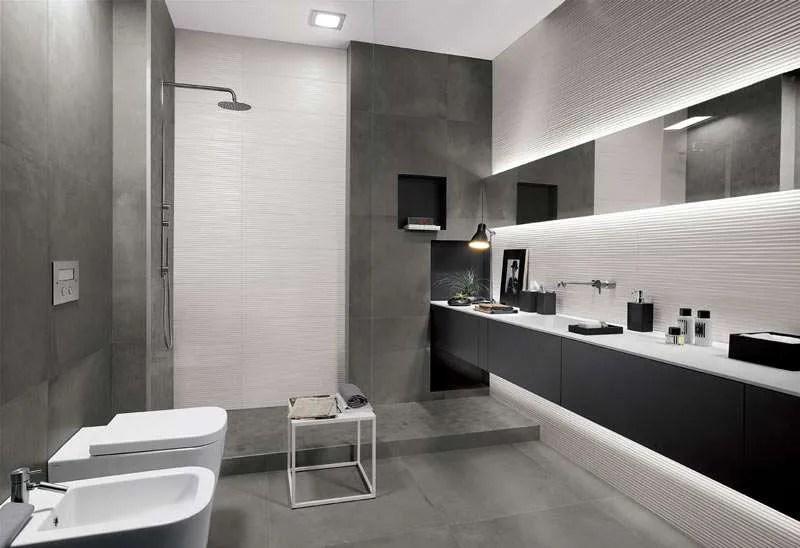 Piastrelle 3d tridimensionali per il bagno