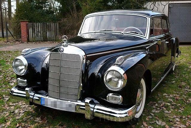 Oldtimer MercedesBenz 300 d Adenauer von 1959 mieten