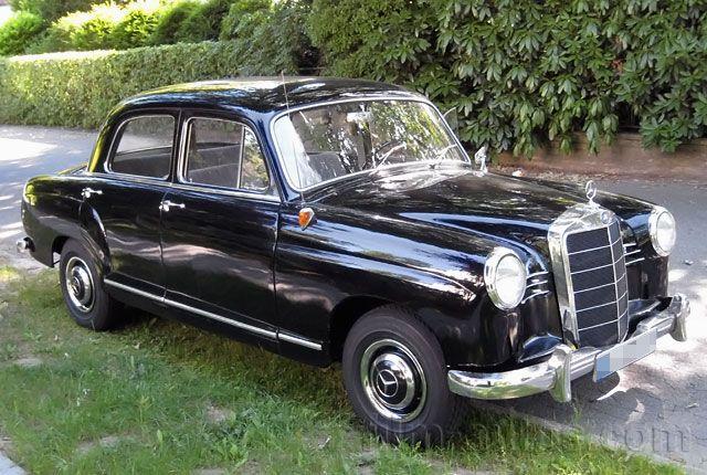 Oldtimer MercedesBenz W 120 190 b Ponton von 1958 mieten