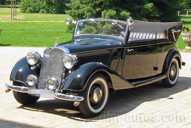 Oldtimer MercedesBenz 170 V Cabrio B von 1941 mieten