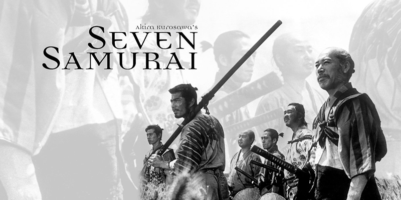 Seven Samurai (1954) - Kurosawa's Beautiful Action Epic.