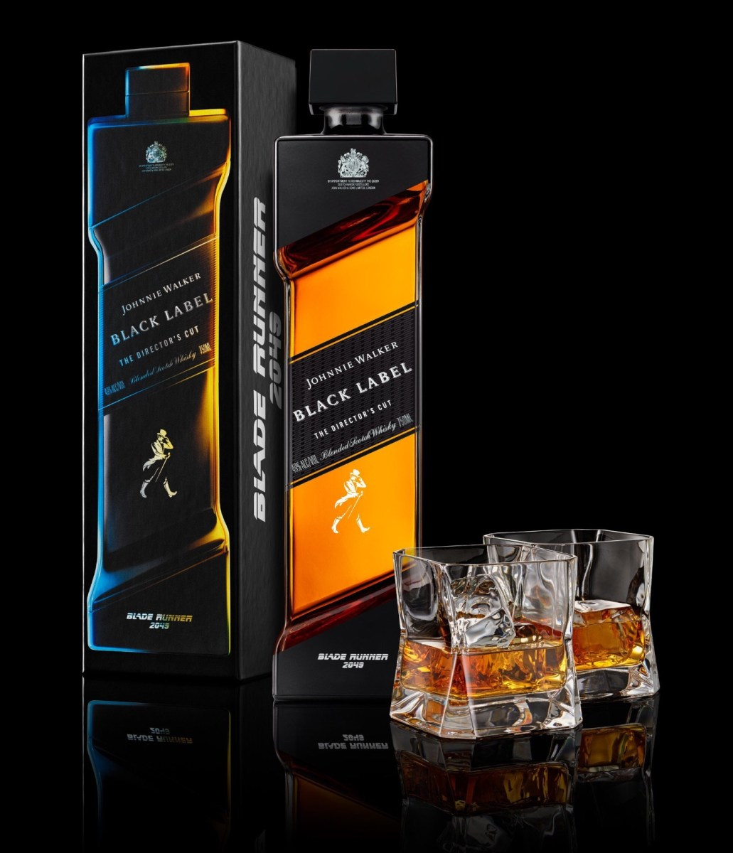 Johnnie Walker to release Limited Edition Blade Runner 2049 'Director's Cut' whisky.