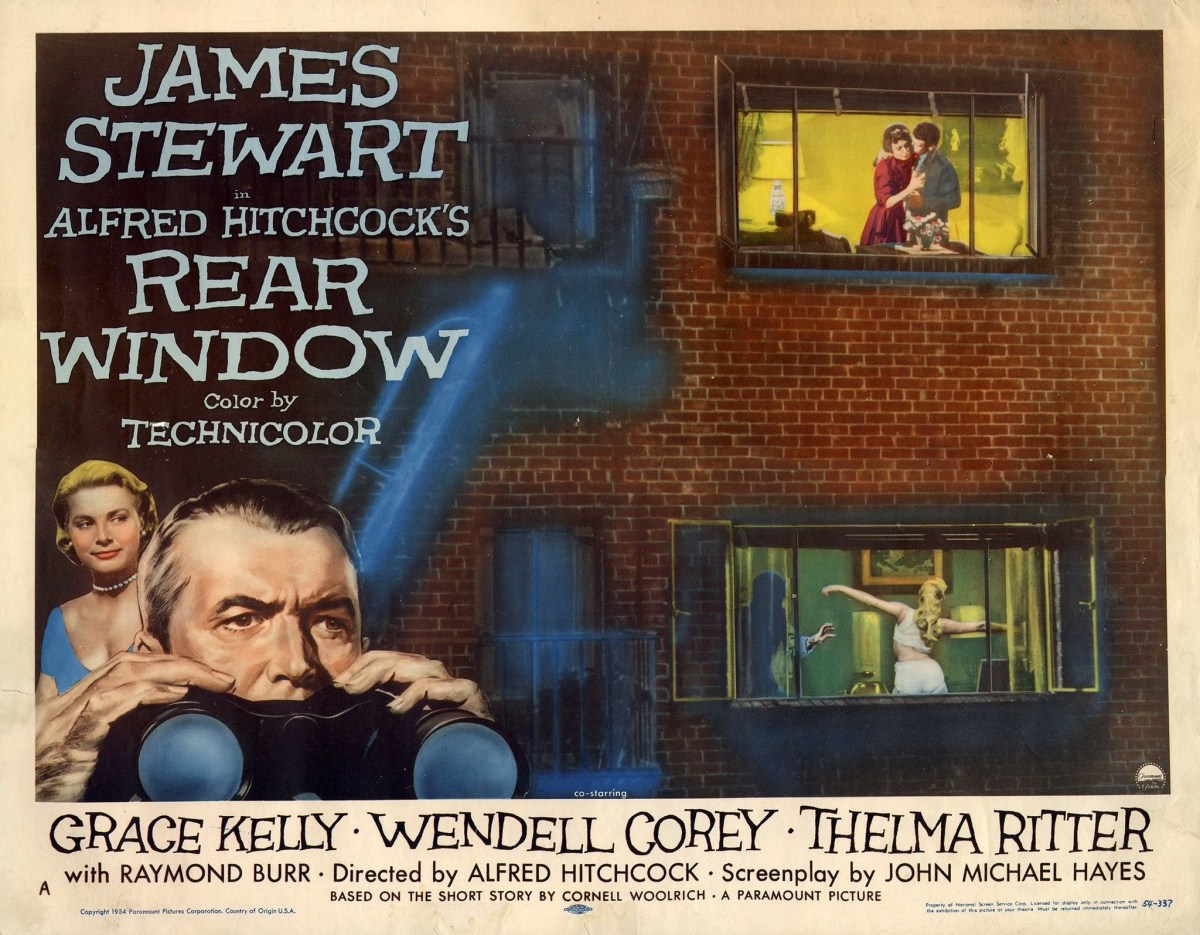 Alfred Hitchcock's Rear Window (1954).