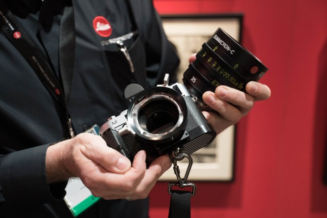 PL Adaptor for Leica M Camera at NAB 2015