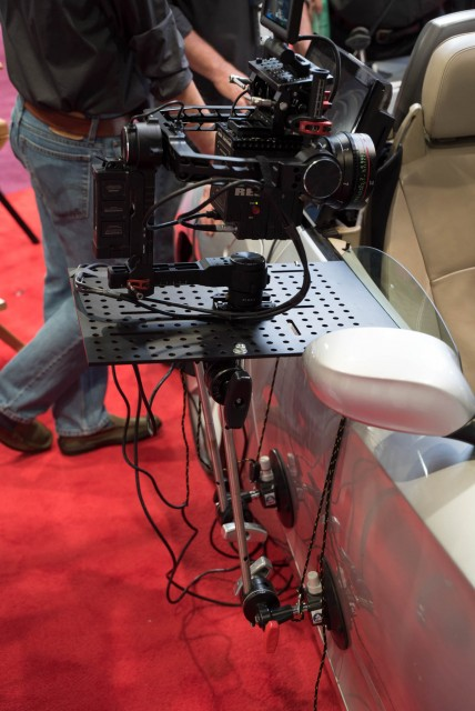 A Matthews Hostess Tray that allows the door to open at NAB 2015