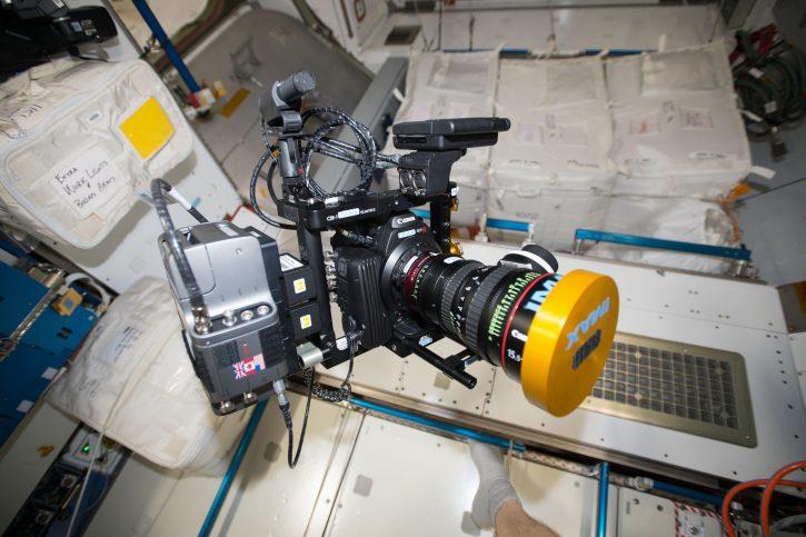 iss043e005898 NASA IMAX camera