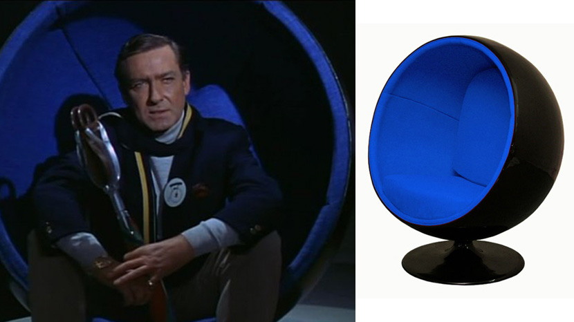 The Prisoner Ball Chair Comp Film And Furniture