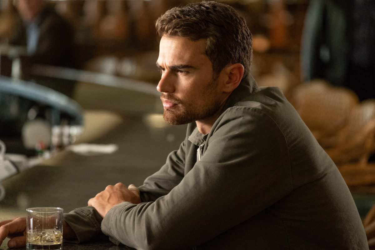 Lying And Stealing Review Crime Noir Starring Theo James