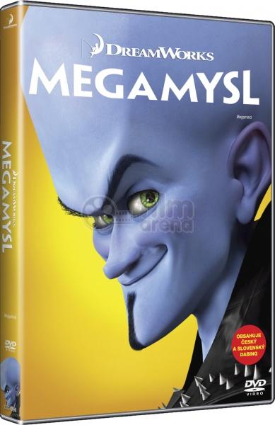 megamind big face dvd