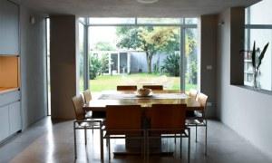obra casa beccar interior comedor