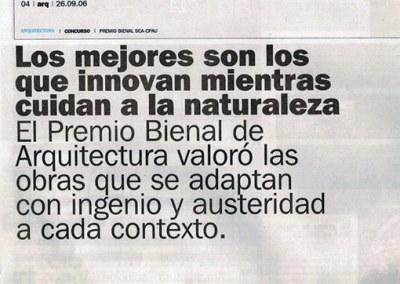 2006.09.26 Clarín