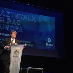 Retransmisión #BilbaoGazteTalk en Twitter
