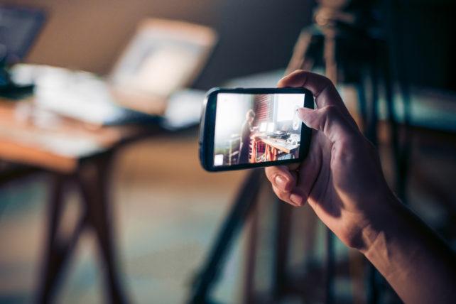 video con móviles