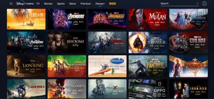 Which streaming platform has the best interface ?, Movie Satellite