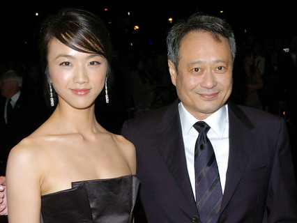 Tang Wei and Ang Lee at the LFF Gala screening of Lust, Caution
