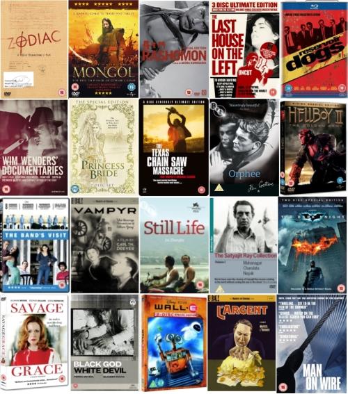 Best DVD releases of 2008
