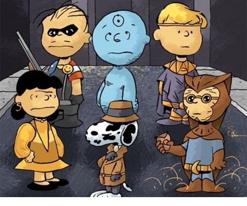 Peanuts vs Watchmen