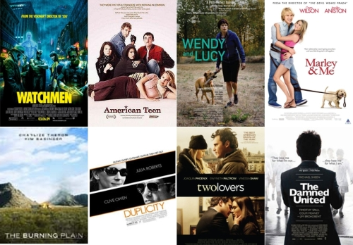 UK Cinema Releases March 2009