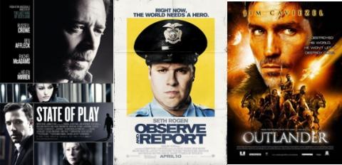 UK Cinema Releases 24-04-09