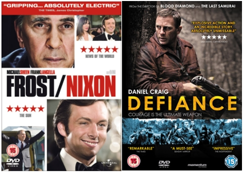 UK DVD Releases 18-05-09