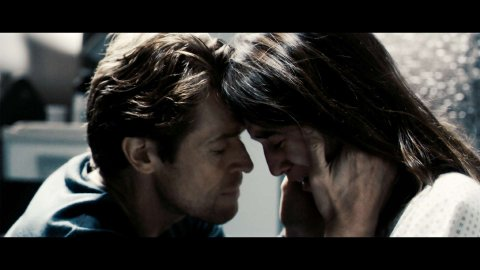 Willem Defoe and Charlotte Gainsbourg in Antichrist