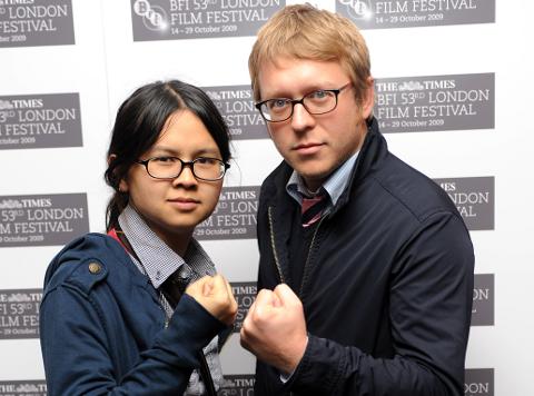 Charlyne Yi and Nicholas Jasenovec