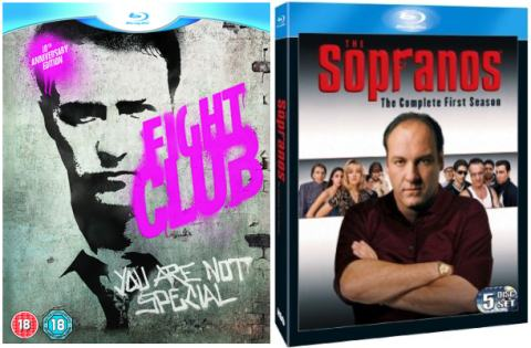 UK DVD and Blu-ray Picks 23-11-09 / Fight Club / The Sopranos Season 1