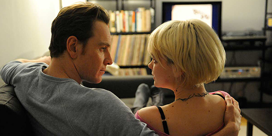 Michael Fassbender and Carey Mulligan in Shame
