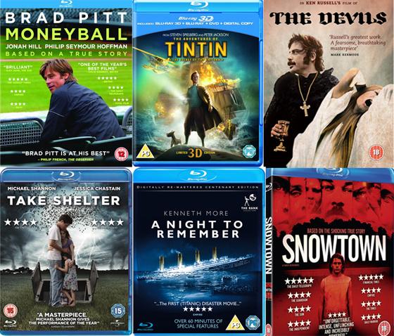UK DVD & Blu-ray Picks 19-03-12