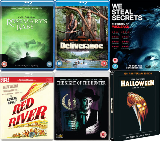 DVD and Blu-ray Picks October 2013
