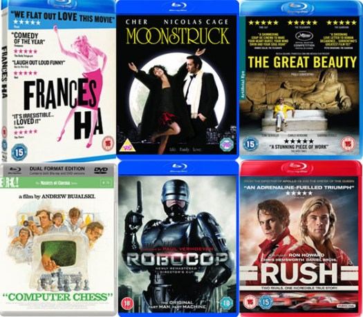 DVD and Blu-ray January 2014