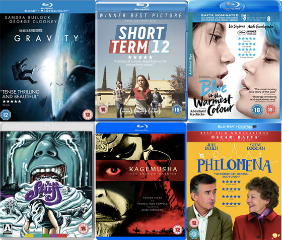 DVD Blu Picks March 2014