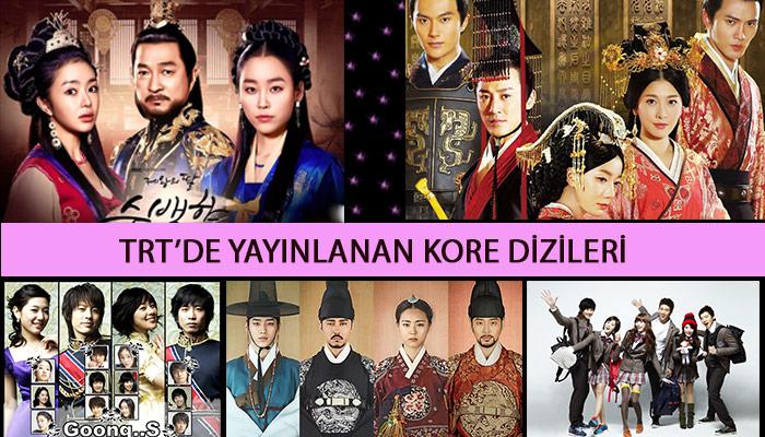 TRT'de Yayınlanan Eski Yeni Kore Dizileri ve Konuları