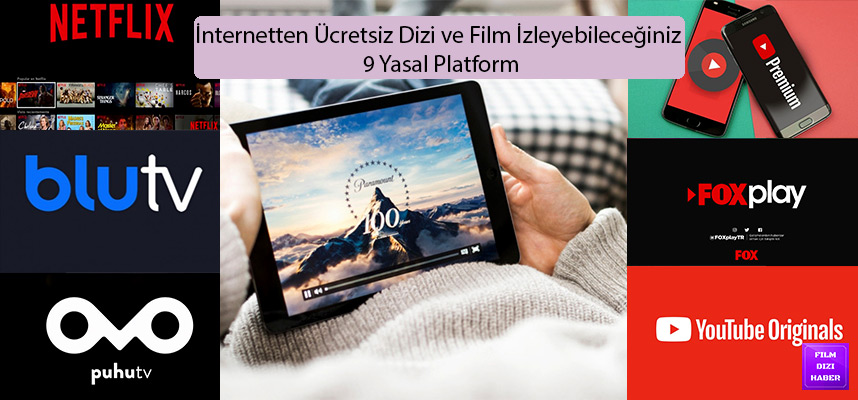 İnternetten Ücretsiz Dizi ve Film İzleyebileceğiniz 9 Yasal