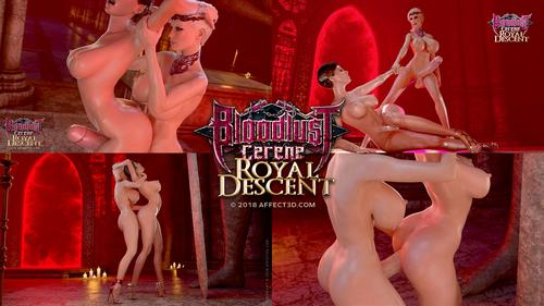Filme porno hentai 3D Bloodlust Cerene Royal Descent . 10