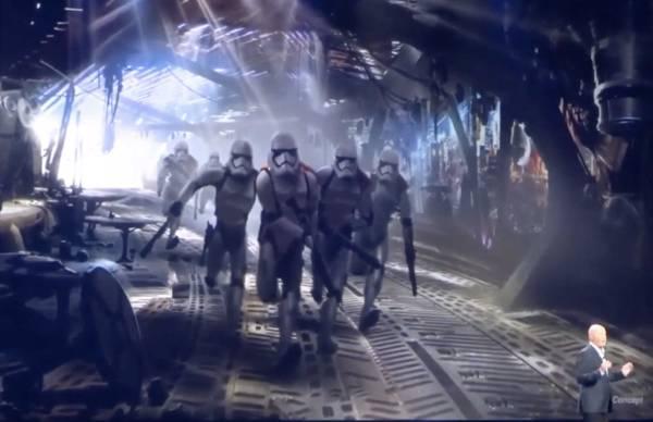 Disney D23 Star Wars Wrap
