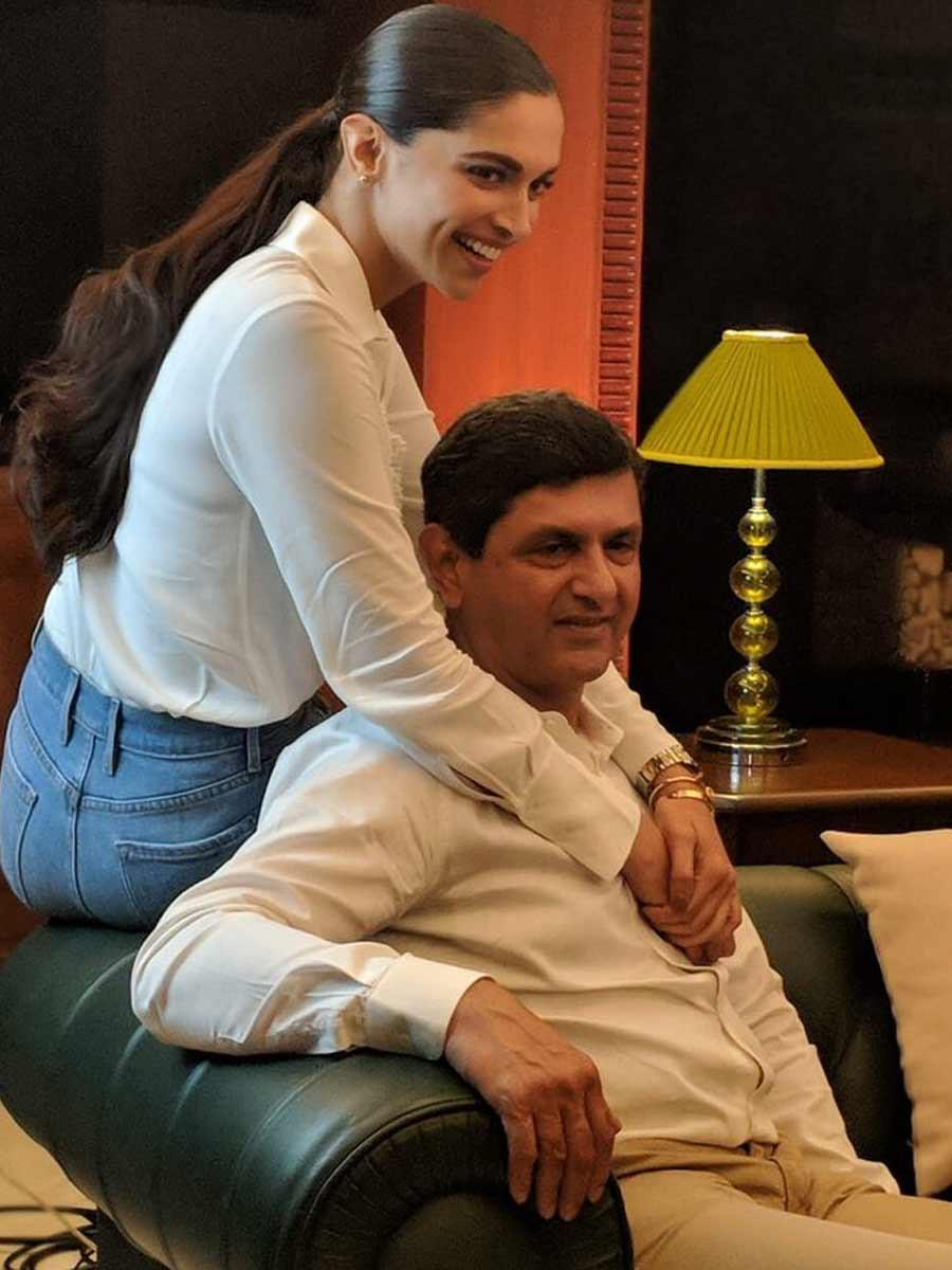 Prakash Padukone Deepika Padukone