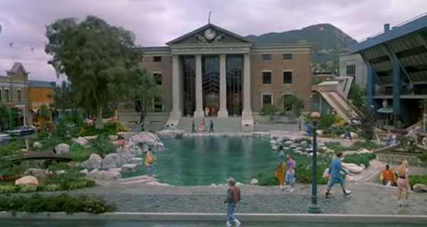 Hill Valley, 2015 (copyright NBC Universal)