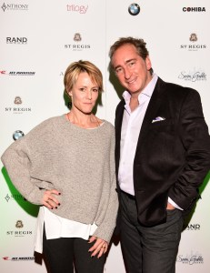 "PARK CITY, UT - JANUARY 24: Actress Mary Stuart Masterson and President and CEO of Rand Luxury Bradford Rand attend Rand Luxury Hosts ""As You Are"" At The Luxury Lounge At The St. Regis During Sundance 2016 - 2016 Park City on January 24, 2016 in Park City, Utah. (Photo by Vivien Killilea/Getty Images for Rand Luxury)"