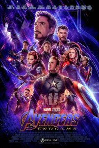 FIlm Poster: THE AVENGERS: ENDGAME