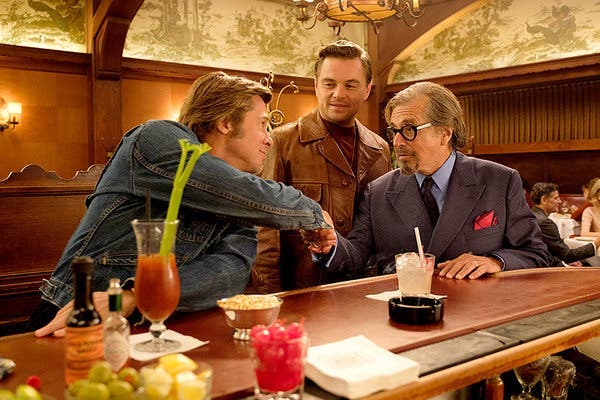 Film Image: ONCE UPON A TIME IN HOLLYWOOD