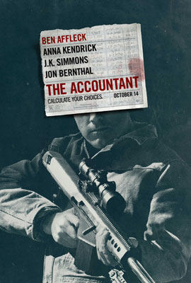 Film Poster: The Accountant
