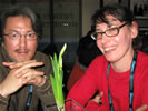 January 23, 2009 - Alfred P. Sloan Foundation Award & Reception - Japanese director Kanji Nakajima (The Clone Returns Home) and French director  Lucile Hadzihalilovic, (EVOLUTION)