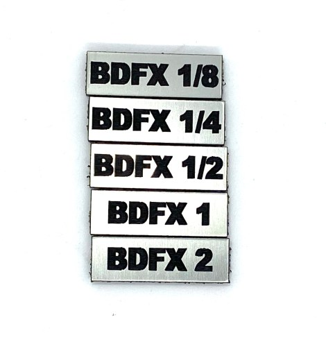 BDFX Filter Tag Set