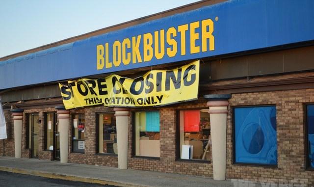 Blockbuster close