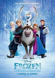 frozen il regno di ghiaccio locandina