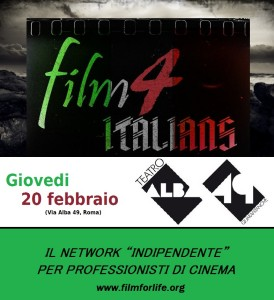 Film4ITALIANS Locandina