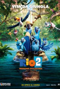 rio 2 locandina film